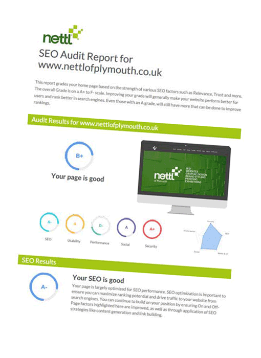 SEO Report Example