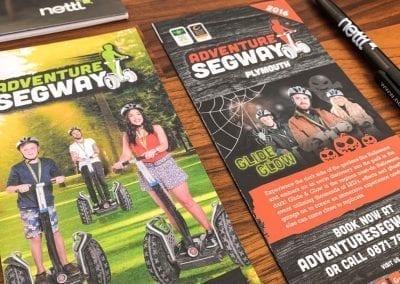Adventure Segway Leaflet Designs