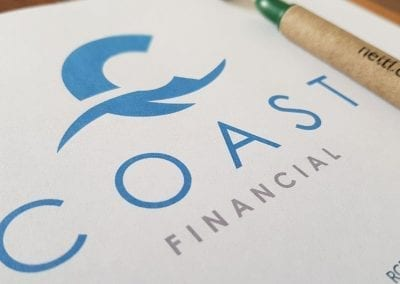 Coast Financial Logo Design