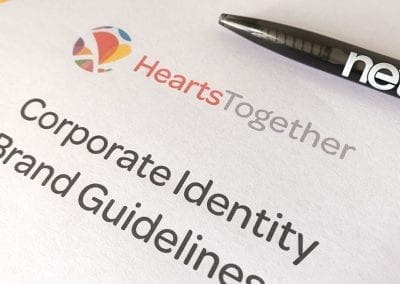 Hearts Together Brand Identity