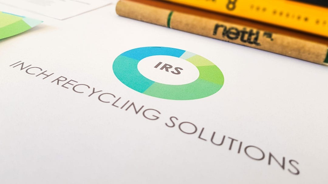 Inch Recycling Solutions Logo Design
