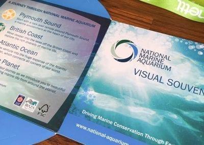 National Marine-Aquarium CD Holder Design