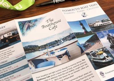 Plymouth Boat Trips Brochure Design