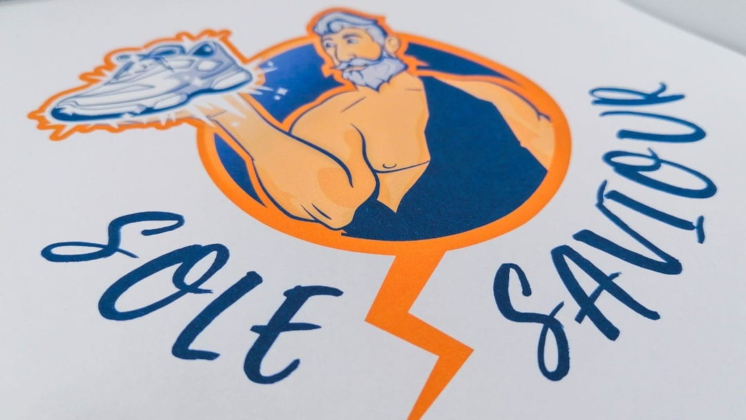 Sole Saviour Logo Design