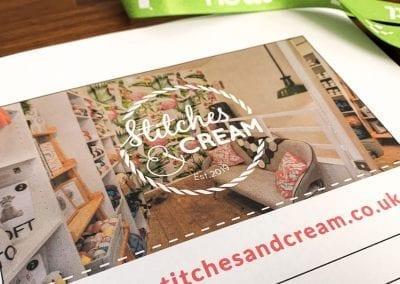 Stitches & Cream Flyer Design