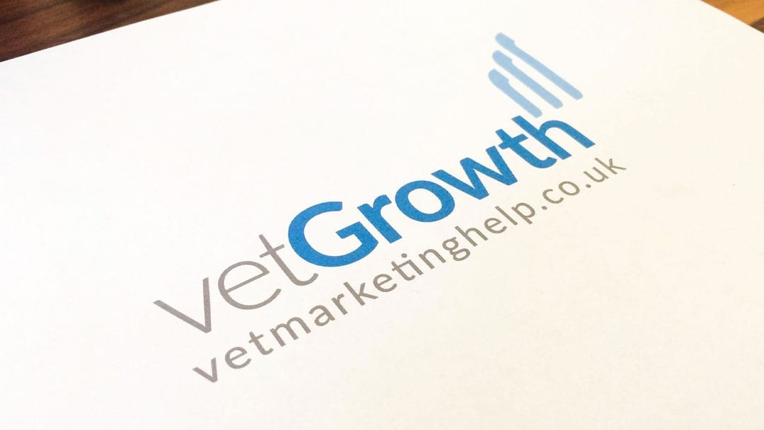 Vet Growth Logo Design
