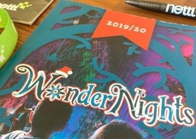 Wonder Nights Booklet Design