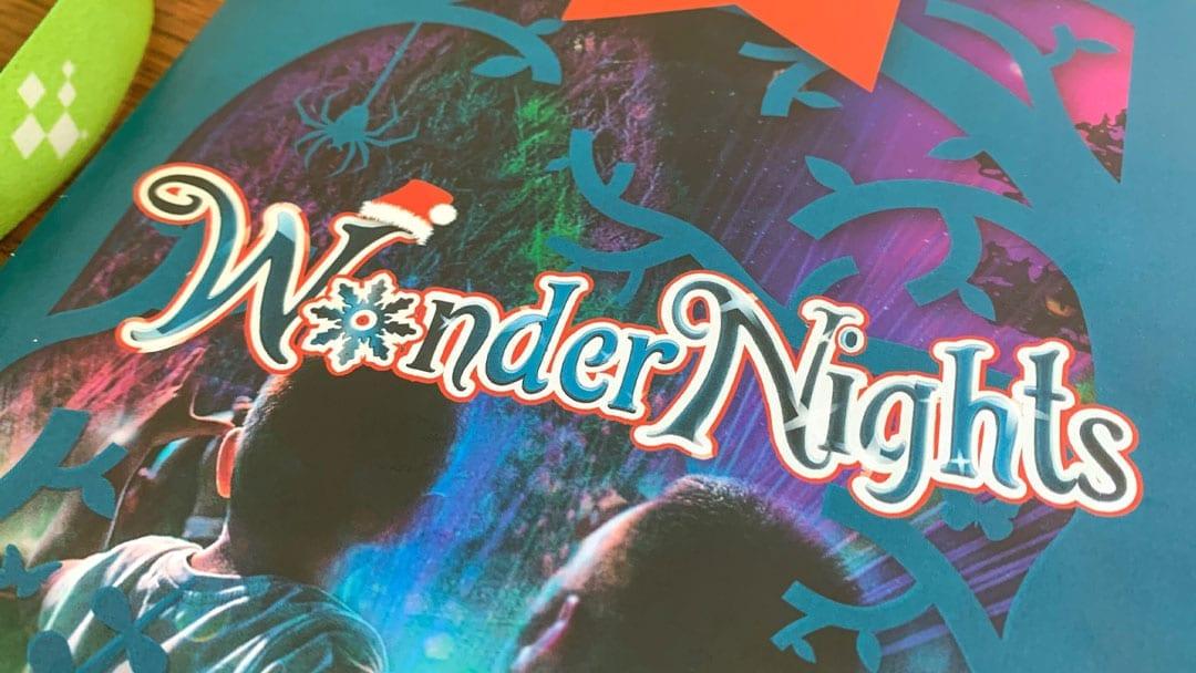 Wonder Nights Logo Design