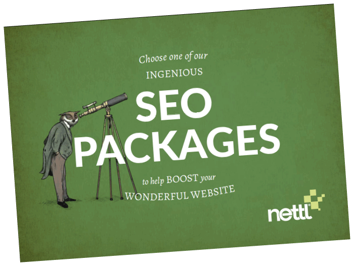 SEO Experts Packages Booklet Cover