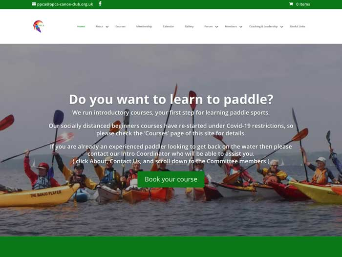 PPCA Website Design