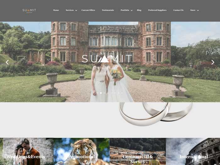 Summit Imagery Website Design