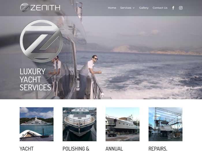 Zenith Website Design